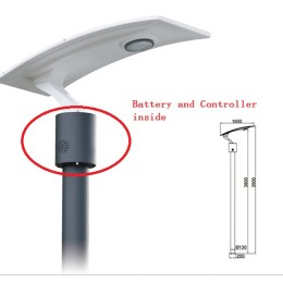 15W LED Solar garden/pathway light with flexible solar panel(Li-ion battery)-2FSG154 Model