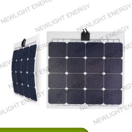 50w-55W ETFE Square matrix flexible solar panel for RV Marine yacht etc