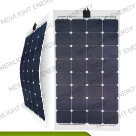 100w-115W ETFE flexible solar panel for RV Marine yacht etc applications