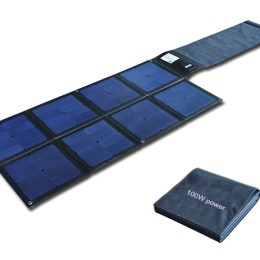 100W Flodable SUNPOWER solar charger-solar Blanket 2FFM117B