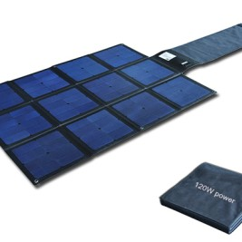 120W Flodable SUNPOWER solar charger-Blanket 2FFM117C