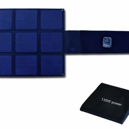 135W Flodable SUNPOWER High Efficiency 25% solar charger-Solar Blanket 2FFM115C