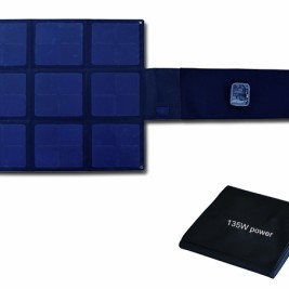 135W Flodable SUNPOWER High Efficiency 25% solar charger-Blanket 2FFM115C