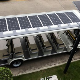 RV flexible solar panels