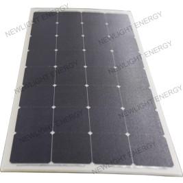 105W SUNPOWER flexible solar panels with Aluminum inside
