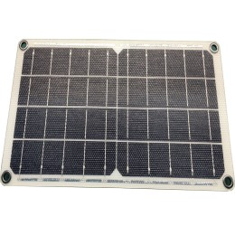 10W SUNPOWER Solar Charger With glass fiber Inside