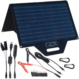60W Portable Solar Charger with 1mm fiber glass inside
