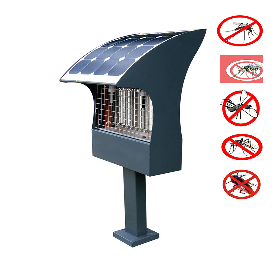 LED Solar Mosquito-Insect Killer Lamp 2FSA001