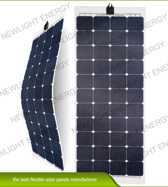 135w-160W ETFE flexible solar panel for RV Marine yacht