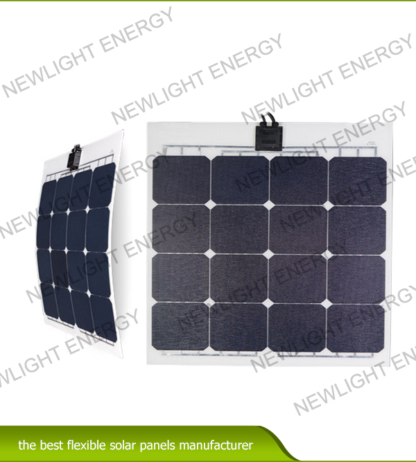 50w-55W ETFE flexible solar panel for RV Marine yacht etc