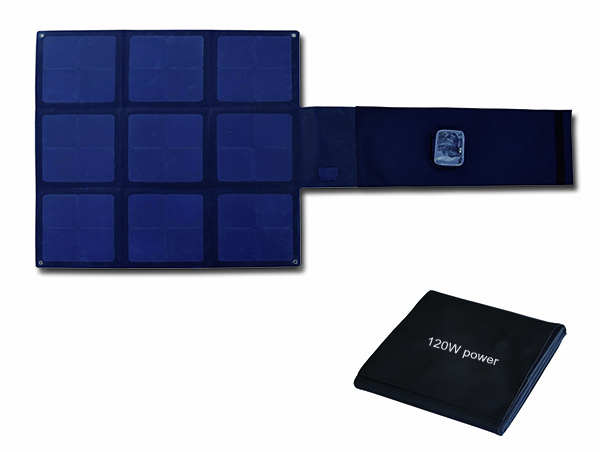 120W Flodable SUNPOWER solar charger-Solar Blanket 2FFM115B