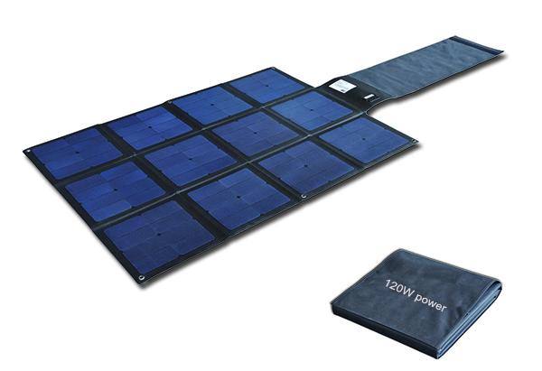 120W Flodable SUNPOWER solar charger-Solar Blanket 2FFM117C