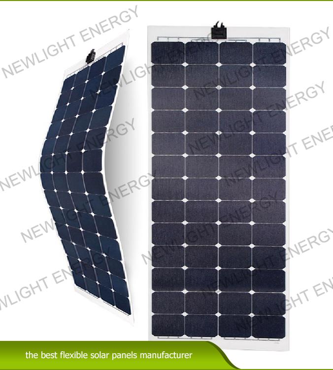 150W-170W ETFE flexible solar panel for RV Marine yacht