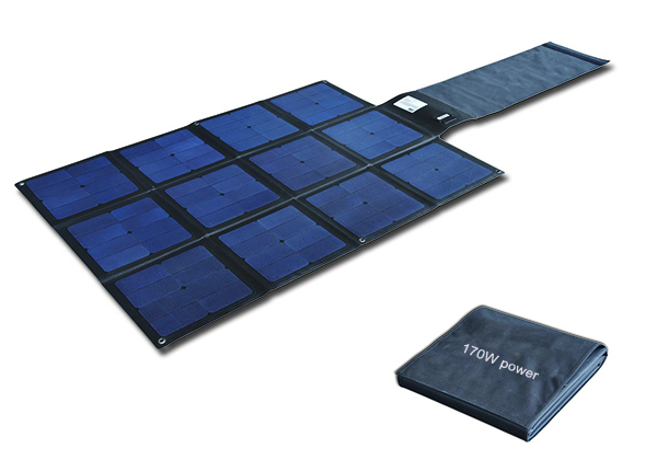 170W Flodable SUNPOWER High Efficiency 25% solar charger-Solar Blanket 2FFM113C