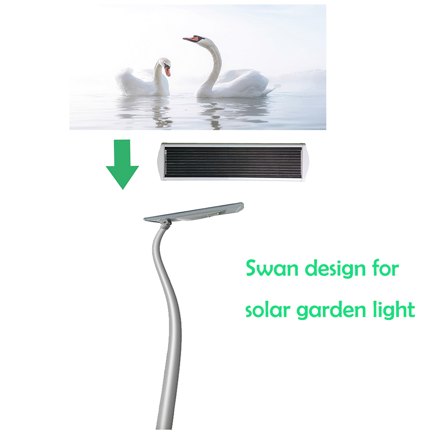 Solar SWAN light for Garden design 2FSG022
