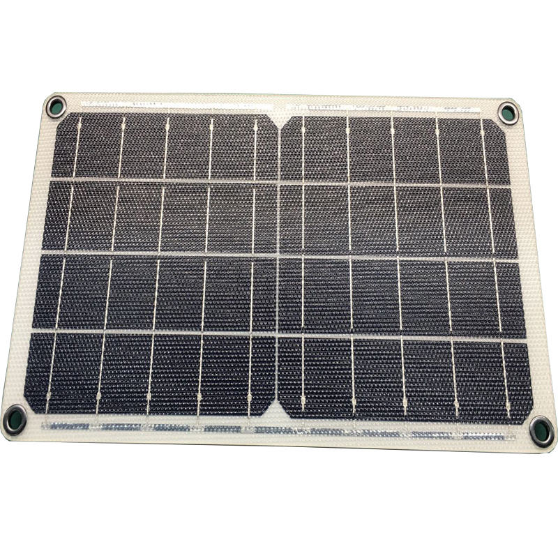 10W Solar Charger With glass fiber Inside