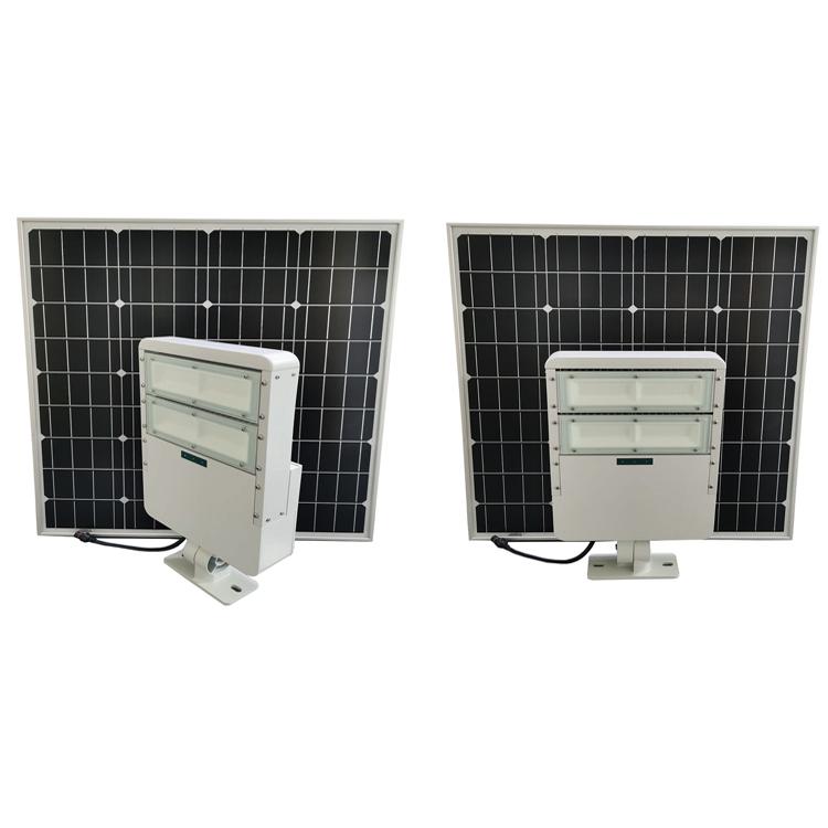 96pcs high lumens chip 60W LED solar Flood light For villa,resorts,garden light