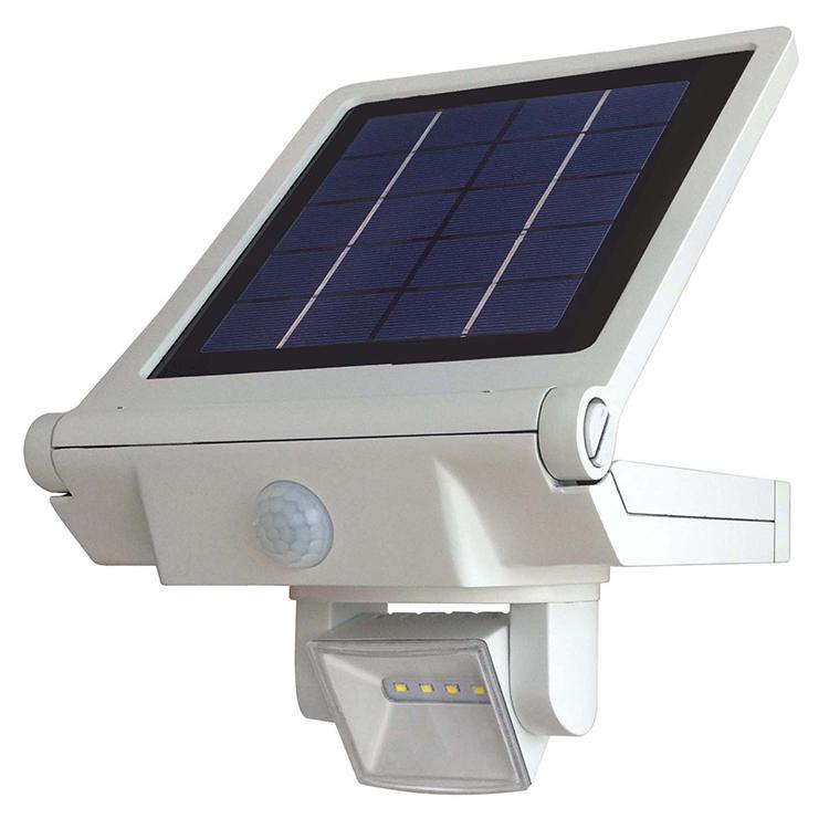 500Lm LED solar flood light with adjustable and motion sensor 2FSL057
